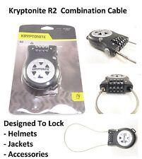 Kryptonite R2 Retractable Combination Pocket Lock Harley Davidson Helmet Jacket