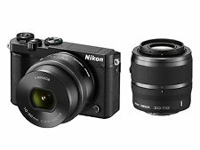 Nikon 1 J5 Digital Camera 10-30mm + 30-110mm Double Zoom Kit -Black-