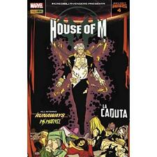 INCREDIBILI AVENGERS PRESENTA: HOUSE OF M 4 - 32 - MARVEL PANINI COMICS - NUOVO