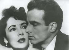 ELIZABETH LIZ TAYLOR  MONTGOMERY CLIFT  DUEL IN THE SUN 1951 VINTAGE PHOTO