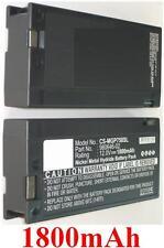 Batterie 1800mAh type 17466 980646-02 Pour Trimble Pro XL