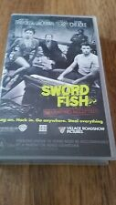 SWORD FISH - JOHN TRAVOLTA, HALLE BERRY - VHS VIDEO