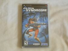 NEW Alien Syndrome PSP Game SEALED Sony Sega aliens sindrome rpg shooter