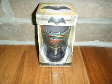 BATMAN VS SUPERMAN SMOKE 16 OZ PINT BEER GLASS NEW EMBLEM OVERLAY OF BOTH COOL!!