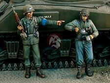 Verlinden 1/35 US Military Police (MP) and Tanker WWII (2 Figures) [Resin] 1118