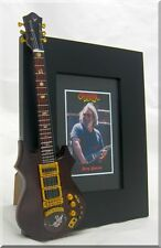 JERRY GARCIA  Miniature Guitar Frame Grateful Dead Tiger