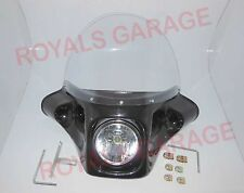 classic windshield police big fearing for royal bikes  electra harley  1
