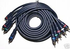 12ft Heavy Gauge 5-RCA Component HD Video Audio Cable 12 FT Premium Cable