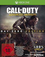 Cod Call of Duty: Advanced Warfare Day Zero Edition Xbox One nuevo & OVP