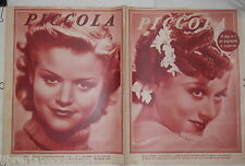 PICCOLA 16 giugno 1936 Eleanor Withney Carolina Key Helen Wood June Lang Valente