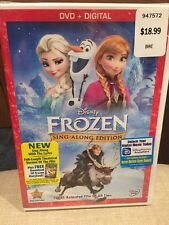 Frozen DVD, 2014, Sing-Along Edition; Includes Digital Copy/Mfg. Sealed