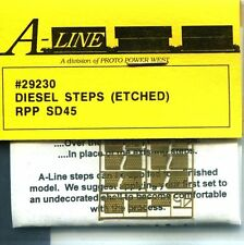 HO SCALE:  PROTO POWER WEST 29230:  DIESEL STEPS: RPP SD45
