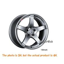 NEW SSR GT V01 17x7 4-100 +42 +50 GLARE SILVER 17inch *1rim price official