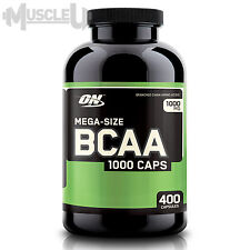 Optimum Nutrition BCAA 1000 - 400 Capsules - Branched Chain Amino Acid Caps