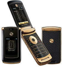 Motorola MOTO RAZR2 V8 - Gold Edition Luxury Flip Mobile Phone + 1 Year Warranty
