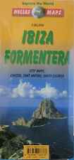 NEW 2003~MAP of IBIZA FORMENTERA (Spain), Nelles~Details- Eivissa, Sant Antoni +