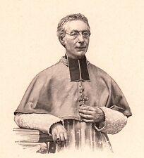 Portrait Monseigneur Pierre-Emmanuel Bouvier Tarentaise Savoie