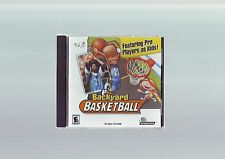 PC & APPLE MAC GAME - BACKYARD BASKETBALL - FAST POST - COMPLETE WITH MANUAL NEW