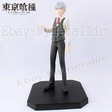 """Tokyo Ghoul Ken Kaneki with white Eye Patch 16cm / 6.4"""" PVC Figure NO Box"""