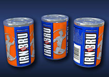 1:12 Scale Irn Bru Cans Dolls House Miniature Soda/Pop Drinks Cans x 3