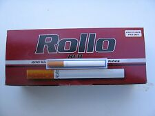 400 ROLLO RED ULTRA SLIM 6.8mm CIGARETTE TUBES + 6.8mm SHOOTER/FILLING MACHINE