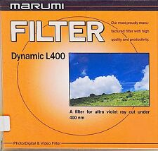 Marumi 62mm Dynamic L400 UV Filter for Canon Nikon Sony Digital Cameras NEW