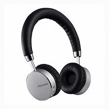 Pioneer SE-MJ561BT in Silver - Bluetooth Headphones with NFC and built in Mic