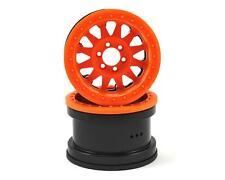 """AXI31364 Axial Racing Method IFD 2.2"""" Beadlock Rock Crawler Wheels (2) (Orange)"""