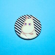 VINTAGE STYLE MOOMIN TROLL BUTTON PIN BADGE