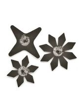 SHURIKEN #throwing STELLE giapponese Set Naruto Ninja Fancy Dress Party Accessorio