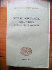 Opere di Antonio Gramsci - Note sul Machiavelli politica e sullo stato moderno