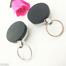 1Pc New Convenient Retractable Key Chain Recoil Ring Belt Clip Key Accessories