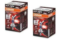 2 x H7 BIRNEN OSRAM NIGHT BREAKER LASER PACK PLUS +130% mehr Licht 2 pcs