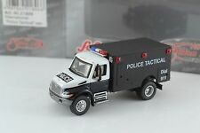 SCHUCO International Police Tactical Truck 1:87 Scale HO