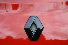 Renault Captur 2013+  GLOSS BLACK REAR  BADGE DIAMOND EMBLEM COVER MANY COLOURS