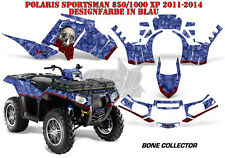 AMR Racing DECORO GRAPHIC KIT ATV POLARIS SPORTSMAN modelli Bone Collector B