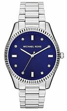 Michael Kors MK3225 Mid-Size Silver Color Stainless Steel Blake Three-Hand Watch