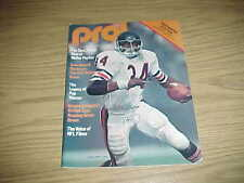 1977 Tampa Bay Buccaneers v Seattle Seahawks Football Program Largent 2 TD Game
