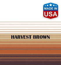 "13' RV Awning Replacement Fabric for A&E, Dometic (12'3"") Harvest Brown"