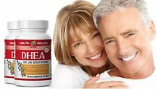 Brain Booster DHEA Support Immune System Pharmaceutical Grade 25mg 2 Bottles