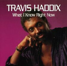 Travis Haddix - What I know right now / ICHIBAN RECORDS CD 1992