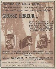 Z9901 Maison DALMAIS - Super IKONTA -  Pubblicità d'epoca - 1937 Old advertising