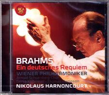 Nikolaus HARNONCOURT: BRAHMS Ein Deutsches Requiem Thomas Hampson Genia Kühmeier