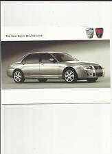 Rover 75 Limusina Folleto de ventas 2004