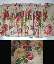 WINDOW VALANCE MW NEW RALPH LAUREN SURREY GARDEN FLORAL GREEN FABRIC TREATMENT