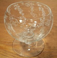 Cambridge Elaine Clear Etched Non Optical Cocktail Icer Glass