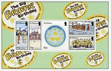 St Helena 2014 MNH Big Brownie Birthday 100 Years 5v M/S Scouting Girls Stamps