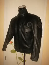 vintage italy SPYKE Motorrad Lederjacke leather motorcycle racing jacket 52 M