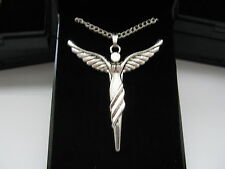 Silver Plated Necklaces 18inch & Large Angel Pendants with gift box