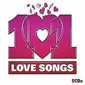101 Love Songs (5 CD Box Set) Eva Cassidy, John Lennon, etc (Romantic Music)